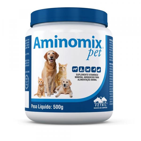 Aminomix Pet 500g - Vetnil
