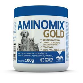 Aminomix Pet Gold Vetnil - 100 G
