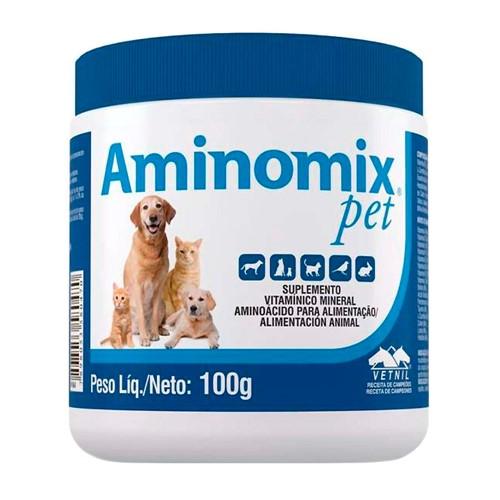Aminomix Pet Uso Veterinário com 100g