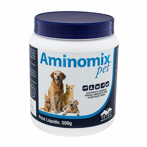 Aminomix Pet Uso Veterinário com 500g