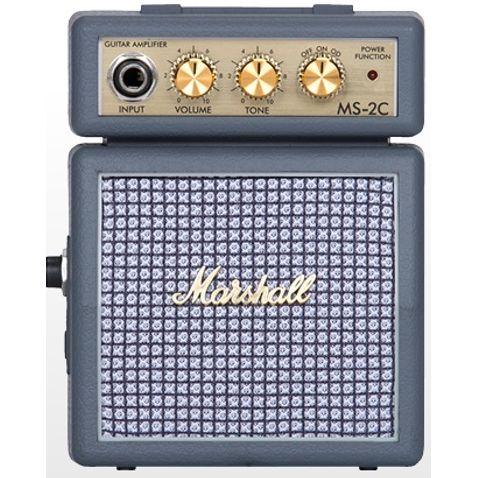 Amplificador Guitarra Marshall Ms2 C e Mini Combo Cinza