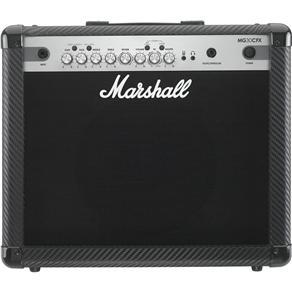 """Amplificador Marshall MG30CFX Carbon Fibre - Combo para Guitarra 15w 1x10"""" com Efeitos"""