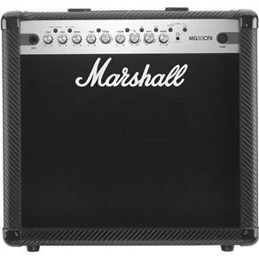 """Amplificador Marshall MG50CFX Carbon Fibre - Combo para Guitarra 50w 1x12"""" com Efeitos"""