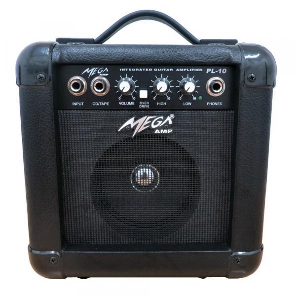 Amplificador Pl-10 BK para Guitarra - Mega