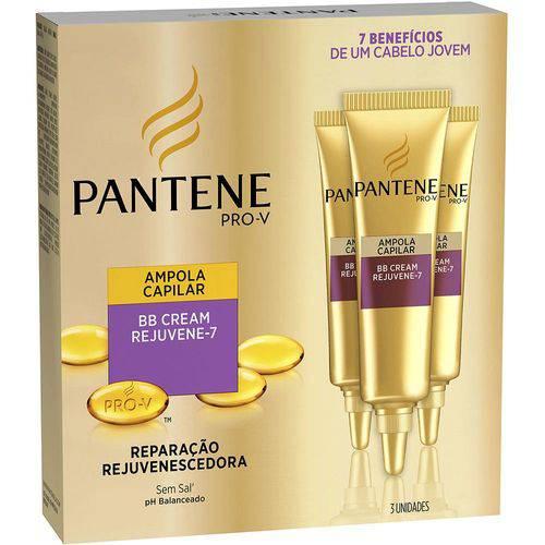 Tudo sobre 'Ampola Pantene Bb Cream Rejuvene-7 com 3 Unidades 15ml'