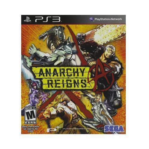 Tudo sobre 'Anarchy Reigns Ps3'