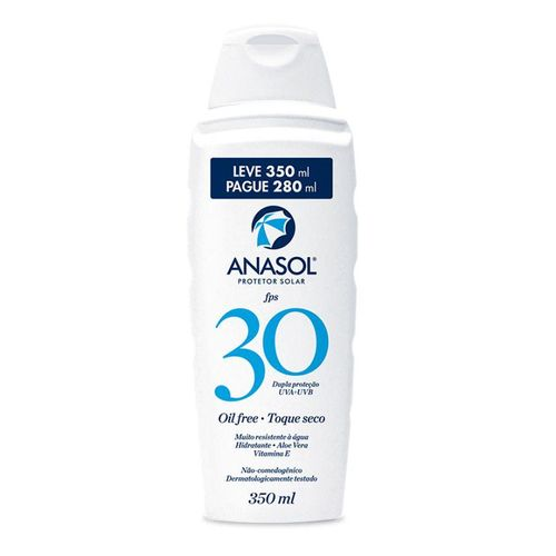 Anasol Protetor Solar Loção Fps 30