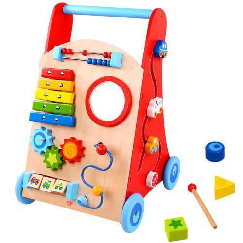 Tudo sobre 'Andador Baby - Carrinho Multifunção - Tooky Toy'