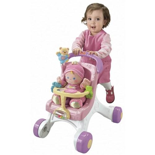 Andador - Meu Primeiro Carrinho de Bebê - Fisher-Price