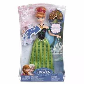 Anna Canções Mágicas - Frozen - Mattel CMK70