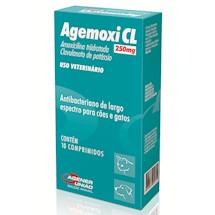 Antibiotico Agemoxi Cl 250mg 10 Comprimidos - Agener - Agener União