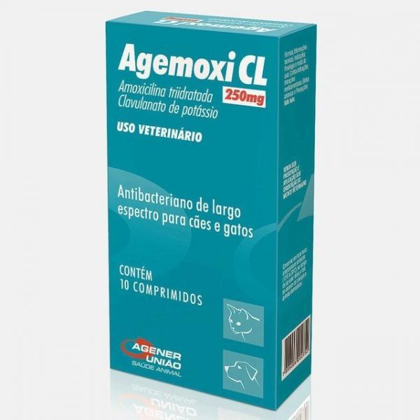Antibiótico Agener União Agemoxi 250mg 10 Comprimidos