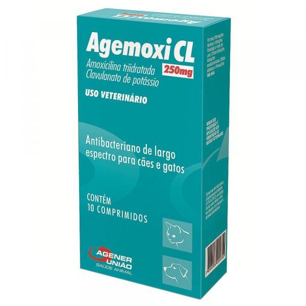 Antibiótico Agener União Agemoxi CL 10 Comprimidos
