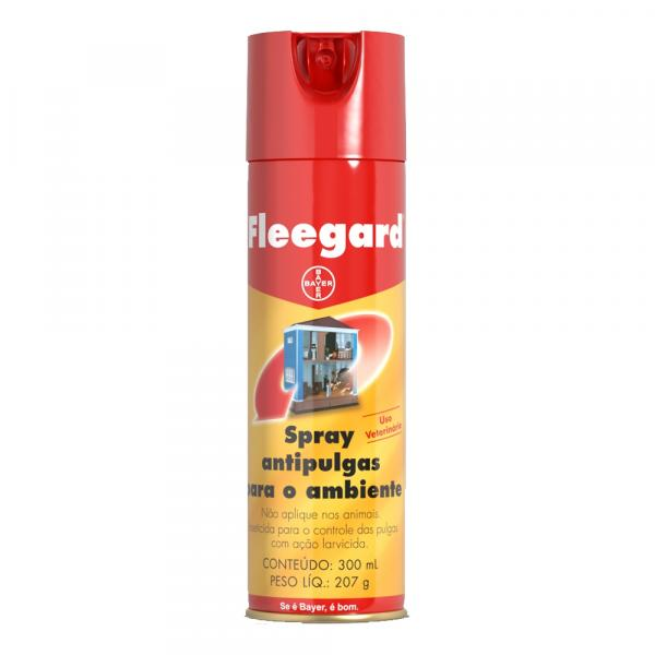 Antipulgas Spray Fleegard Bayer 300 Ml