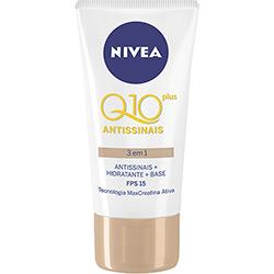Antissinais + Hidratante + Base Nivea Q10 Plus 3 em 1 - FPS 15