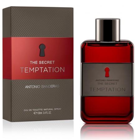 Antonio Banderas Perfume Masculino The Secret Temptation Eau de Toilette 100ml