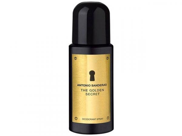Antonio Banderas The Golden Secret - Desodorante Masculino 150 Ml
