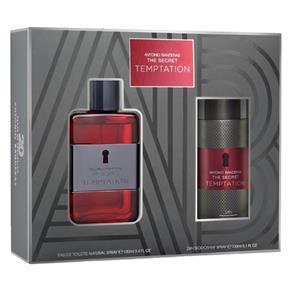 Antonio Banderas The Secret Temptation Kit - Eau de Toilette + Desodorante Kit - 100 Ml 75 Ml