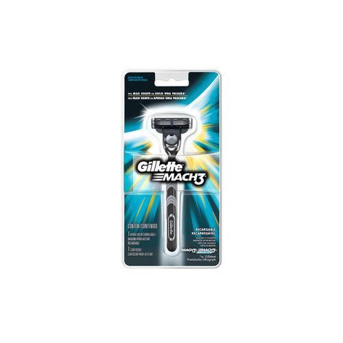 Tudo sobre 'Aparelho de Barbear Gillette Mach3'