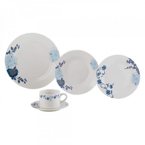 Aparelho de Jantar 20 Peças de Porcelana Classic - Lyor