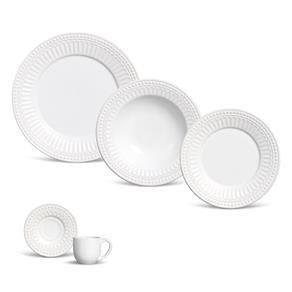 Aparelho de Jantar 20 Pecas Pergamo 20 Pecas - Branco