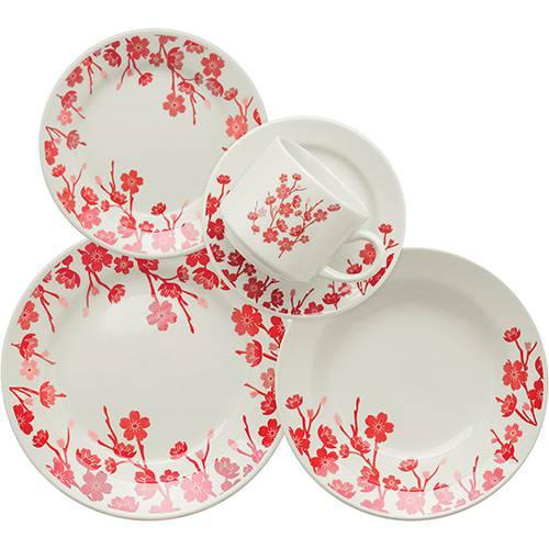Tudo sobre 'Aparelho de Jantar/Chá 20 Peças Cerâmica Donna Jardim Oriental Multicolorido - Biona'
