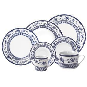 Aparelho de Jantar, Chá e Sobremesa Bon Gourmet Regina 11028 – 42 Peças