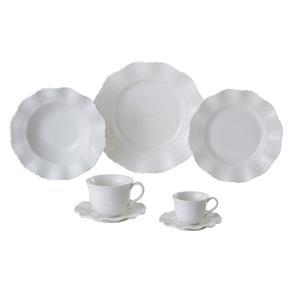 Aparelho de Jantar, Chá e Sobremesa Lyor Classic Princess 9645 – 42 Peças