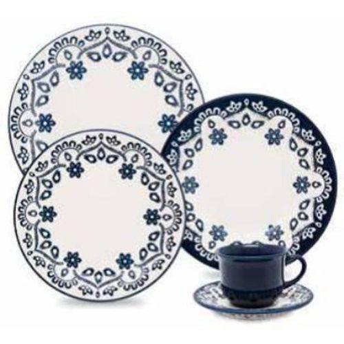 Aparelho de Jantar e Chá 30 Peças Cerâmica Energy