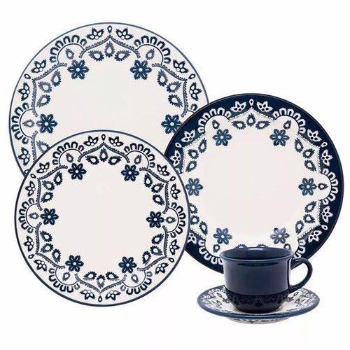 Aparelho de Jantar e Chá Oxford Daily Floreal Energy – 20 Peça