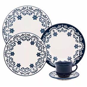 Aparelho de Jantar e Chá Oxford Daily Floreal Energy ? 20 Peças