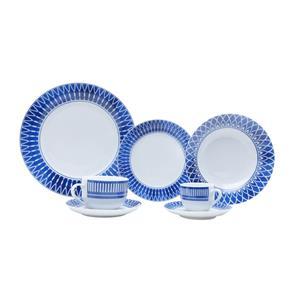Aparelho de Jantar Tress - 42 Peças - Azul