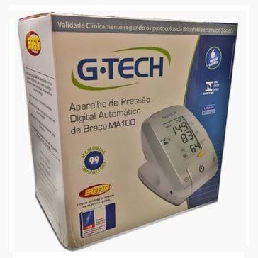 Tudo sobre 'Aparelho de Pressão G-Tech Digital Braço'
