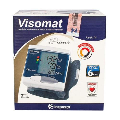 Tudo sobre 'Aparelho de Pressão Incoterm Automático Pulso Visomat Handy IV Linha Prime'