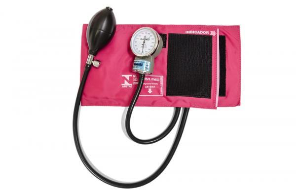 Aparelho de Pressão Rosa Pa2003 P.a. Med - P.a. Med