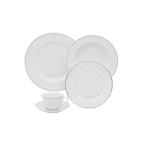 Tudo sobre 'Aparelho Jantar e Chá Flamingo Isabel 30 Peças Oxford'
