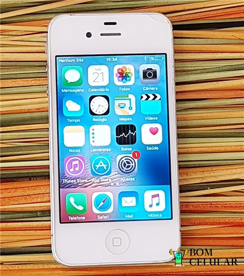 Apple Iphone 4S 8Gb Branco (Seminovo)