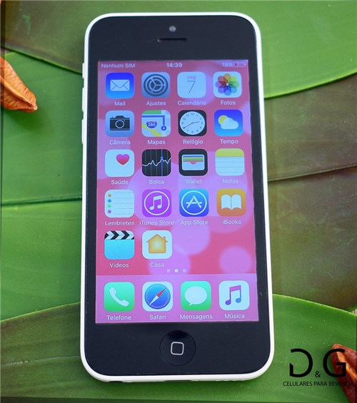 Apple Iphone 5C 8Gb Branco (Seminovo)