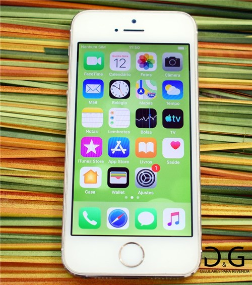 Apple Iphone 5S 16Gb Dourado (Seminovo)