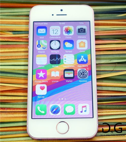 Apple Iphone se 16Gb Rosa (Seminovo)