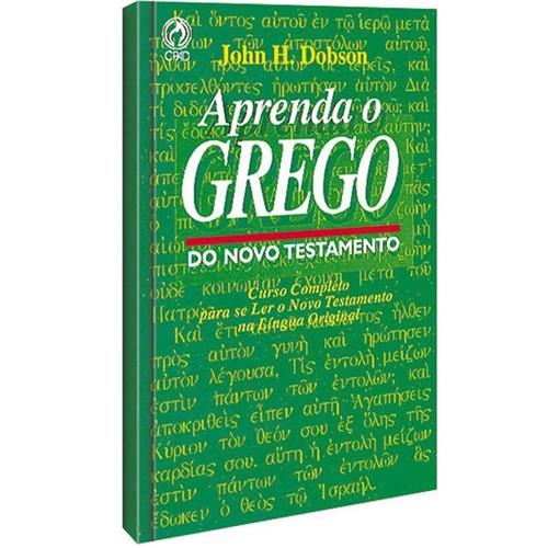 Tudo sobre 'Aprenda o Grego do Novo Testamento Livro CD'