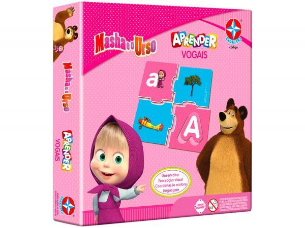 Aprender Vogais Masha e o Urso - Estrela
