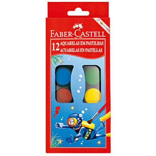 Aquarela 12 Cores Faber Castell
