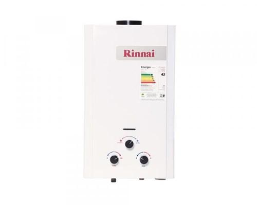 Aquecedor a Gás Mecânico 11L GN Exaustão Natural Branco - Rinnai
