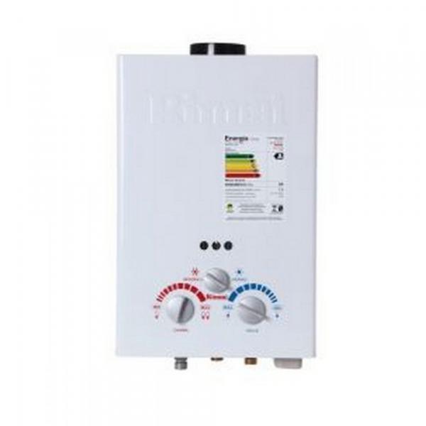 Aquecedor a Gás Rinnai Mecânico 7,5L GN Exaustão Natural Branco