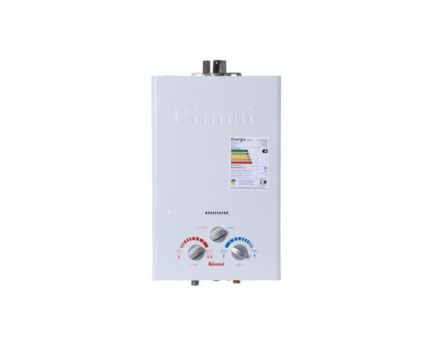 Aquecedor de Água à Gás Mecânico REU-600 BR FE GN 7 Litros Min - Rinnai