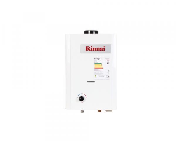 Aquecedor de Água à Gás Mecânico - REU-M07 GN Rinnai 7,5 Litros Min