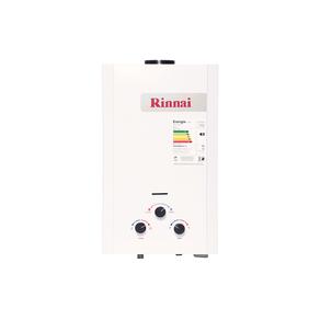 Aquecedor de Água à Gás Mecânico REU-M090 GN 9 Litros Min - Rinnai