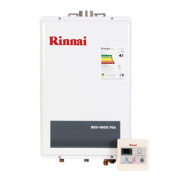 Aquecedor Digital Gas 18L REU1302FEH Rinnai