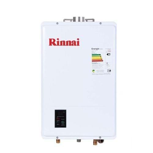 Aquecedor Digital a Gás de 22,5 Litros Rinnai REU 1602FEH GN
